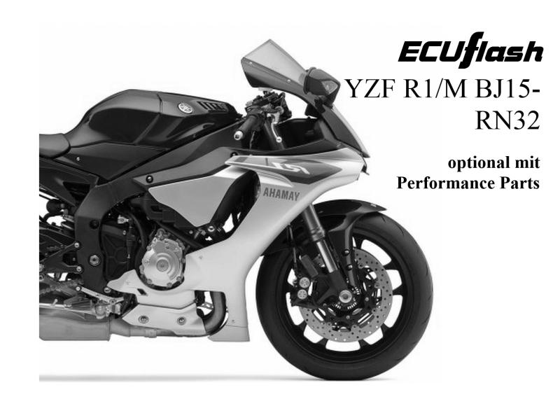 ECUflash Yamaha R1 RN32 BJ15- on