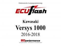 ECUflash KAW Versys 1000  BJ 2016-2018