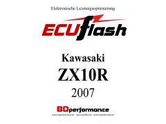 ECUflash KAW ZX10R  BJ 2007
