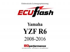 ECUflash Yamaha R6 RJ15 BJ08-16