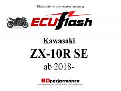 ECUflash KAW  ZX10R SE  BJ 2018-