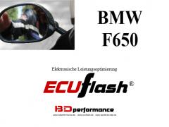 ECUflash - BMW F650 (Serie 35kW)