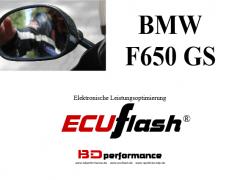 ECUflash - BMW F650 GS (Serie 37kW) und F650 GS (Serie 52kW)
