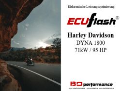 ECUflash - HD Dyna 1800 71kW/95HP