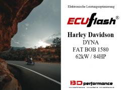 ECUflash - HD Dyna Fat Bob 1580 - 62kW/84HP