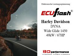 ECUflash - HD Dyna Wide Glide 1450 - 49kW/67HP