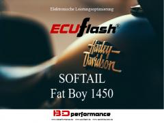 ECUflash - HD SOFTAIL Fat Boy 1450 - 49kW/67HP