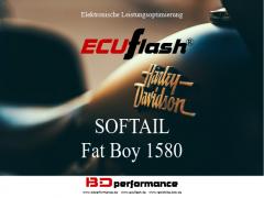 ECUflash - HD SOFTAIL Fat Boy 1580 - 62kW/84HP
