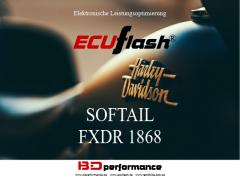 ECUflash - HD SOFTAIL FXDR 1868 - 64kW/87HP