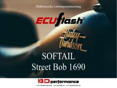 ECUflash - HD SOFTAIL Street Bob 1690 - 64kW/87HP