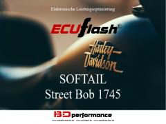 ECUflash - HD SOFTAIL Street Bob 1745 - 64kW/87HP