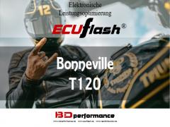 ECUflash - Triumph Bonneville T120