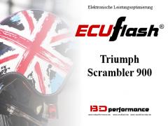 ECUflash - Triumph Scrambler 900, Euro 3 und Euro 4 - siehe bitte Details
