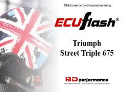 ECUflash - Triumph Street Triple 675 - siehe bitte Details
