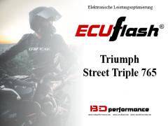 ECUflash - Triumph Street Triple 765 - siehe bitte Details