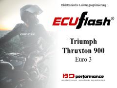 ECUflash - Triumph Thruxton - siehe bitte Details