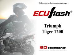 ECUflash - Triumph Tiger 1200 - siehe bitte Details