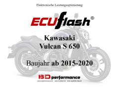 ECUflash KAW Vulcan 650  BJ 2015-2020