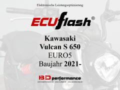 ECUflash KAW Vulcan 650  BJ 2021-> EURO5