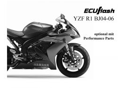 ECUflash Yamaha R1 RN12 BJ04-06