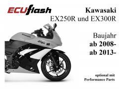 ECUflash KAW EX250R / EX300R