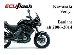ECUflash KAW Versys 650  BJ 2006-2014