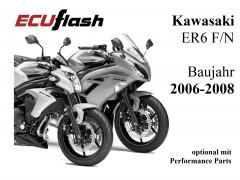 ECUflash KAW ER6 N/F  BJ 2006-2008