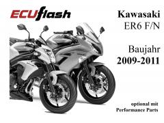 ECUflash KAW ER6 N/F  BJ 2009-2011