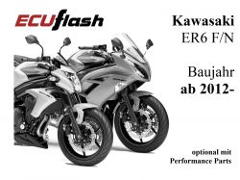 ECUflash KAW ER6 N/F  BJ 2012-