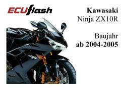 ECUflash KAW ZX10R  BJ 2004-2005