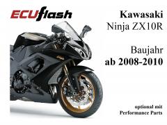 ECUflash KAW ZX10R  BJ 2008-2010