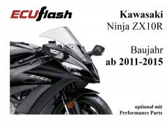 ECUflash KAW ZX10R  BJ 2011-2015