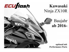 ECUflash KAW  ZX10R  BJ 2016- (EURO4)