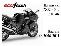 ECUflash KAW ZZR1400  -  ZX14R  -  BJ 2006-2011