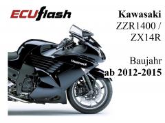 ECUflash KAW ZZR1400  -  ZX14R  -  BJ 2012-2015