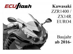 ECUflash KAW ZZR1400  -  ZX14R  -  BJ 2016- (EURO4)