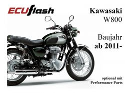 ECUflash KAW  W800  BJ 2011-