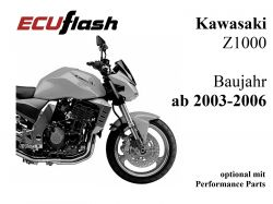 ECUflash KAW Z1000  BJ 2003-2006