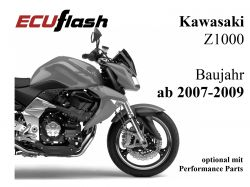 ECUflash KAW Z1000  BJ 2007-2009