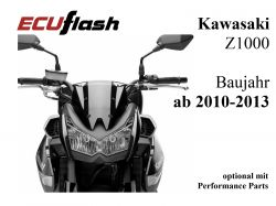 ECUflash KAW Z1000  BJ 2010-2013