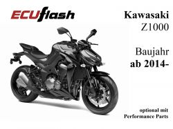 ECUflash KAW Z1000  BJ 2014-2016