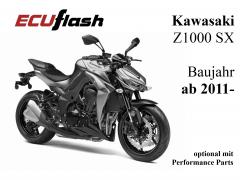 ECUflash KAW Z1000 SX   BJ 2011-