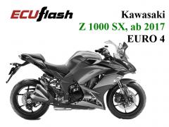 ECUflash KAW Z1000 SX  BJ 2017- EURO 4