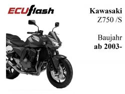 ECUflash KAW Z750 /S  BJ 2003-2006