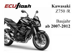 ECUflash KAW Z750 /R  BJ 2007-2012