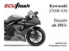 ECUflash KAW ZX6R 636  BJ 2013-