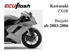 ECUflash KAW ZX6R  BJ 2003-2006