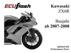 ECUflash KAW ZX6R  BJ 2007-2008