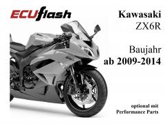 ECUflash KAW ZX6R  BJ 2009-2014