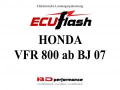 ECUflash Honda VFR800 BJ 07-